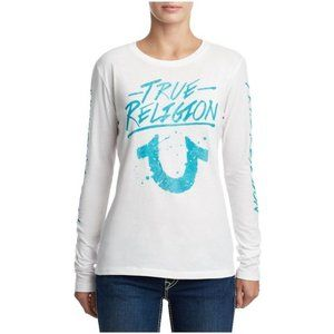 Authentic True Religion Long-sleeved Graphic Tee